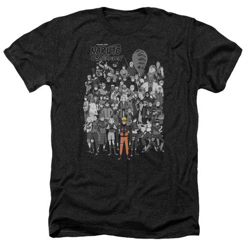 Image for Naruto Shippuden Heather T-Shirt - Characters