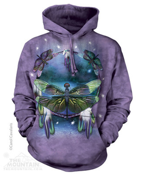 Image for The Mountain Hoodie - Dragonfly Dreamcatcher
