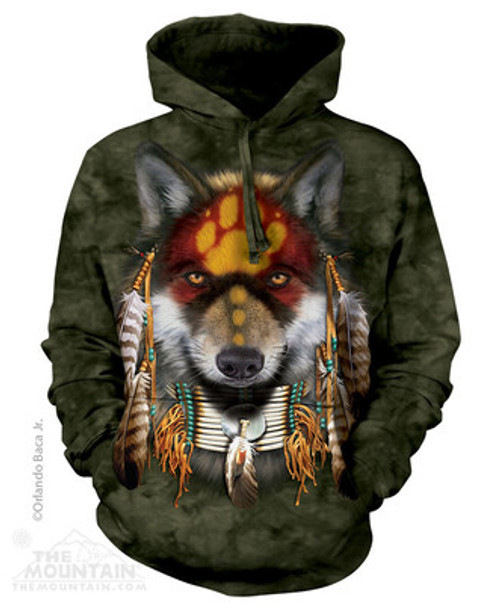 Image for The Mountain Hoodie - Wolf Spirit