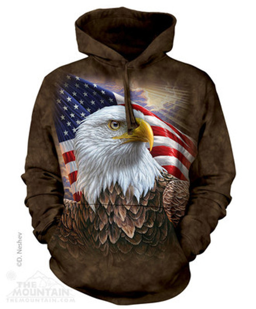 Image for The Mountain Hoodie - Independence Eagle