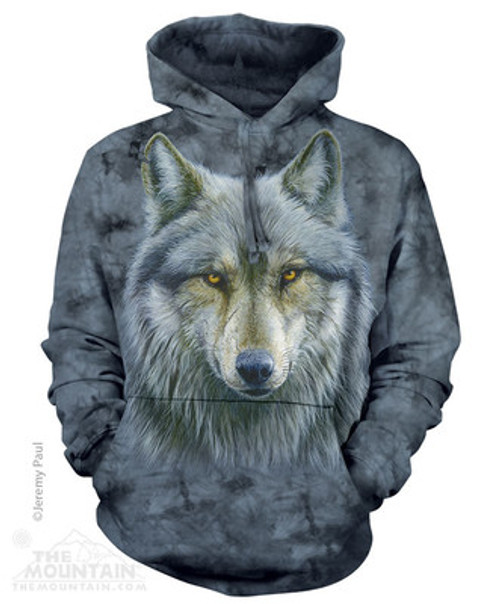 Image for The Mountain Hoodie - Warrior Wolf