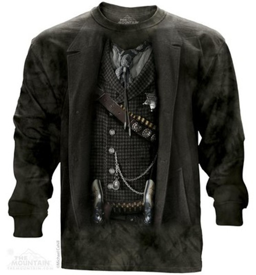 Image for The Mountain Long Sleeve T-Shirt - The Sheriff
