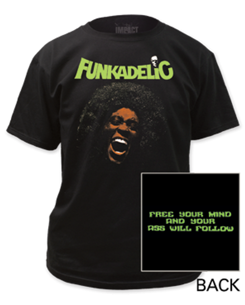Image for Funkadelic Free Your Mind T-Shirt