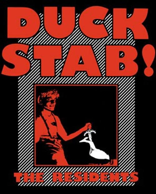 Residents Men/'s  Duck Stab T-shirt Black