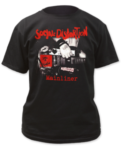 Image for Social Distortion Mainliner Album T-Shirt