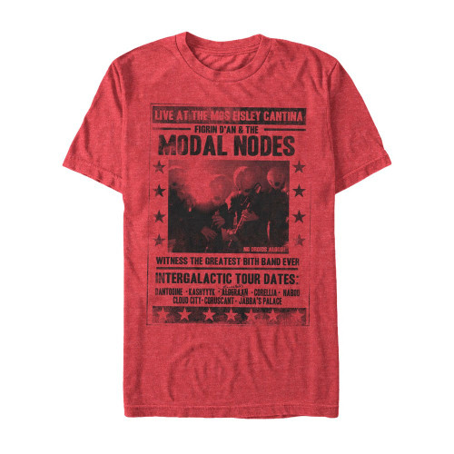 Image for Star Wars Figrin D'An & the Modal Nodes Heather T-Shirt