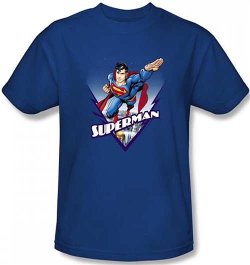 Image Closeup for Superman T-Shirt - This Looks Like a Job For...
