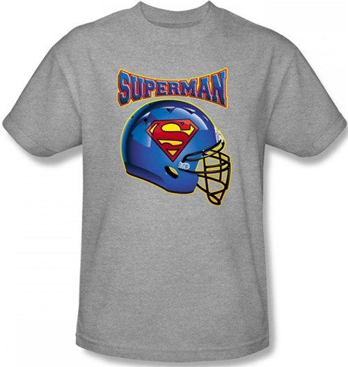 Image for Superman T-Shirt - Superman Helmet Logo