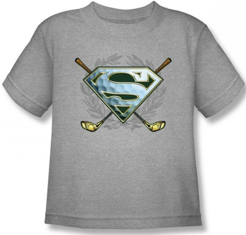Image for Superman Kids T-Shirt - Fore! Logo