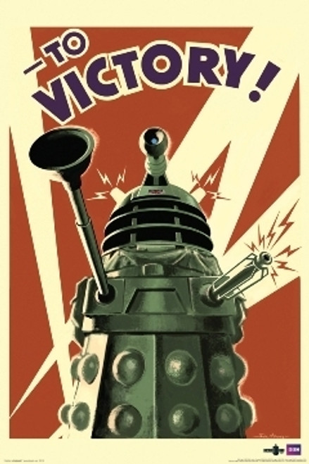 Image for Doctor Who Poster -Dalek To Victory!