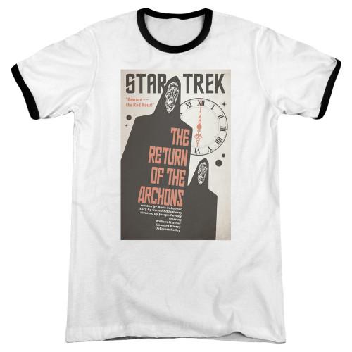 Image for Star Trek Juan Ortiz Episode Poster Ringer - Ep. 21 the Return of the Archons