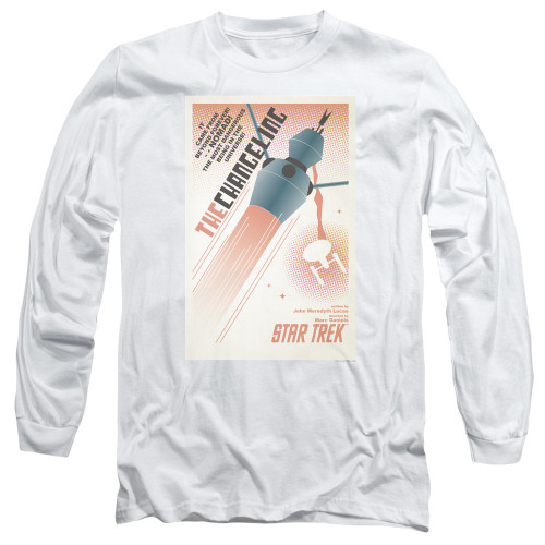 Image for Star Trek Juan Ortiz Episode Poster Long Sleeve Shirt - Ep. 32 the Changeling
