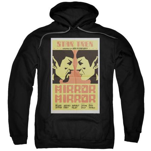 Image for Star Trek Juan Ortiz Episode Poster Hoodie - Ep. 33 Mirror Mirror on Black