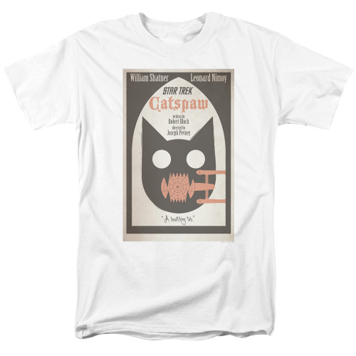 Image for Star Trek Juan Ortiz Episode Poster T-Shirt - Catspaw