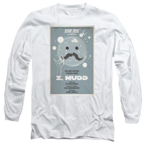 Image for Star Trek Juan Ortiz Episode Poster Long Sleeve Shirt - Ep. 37 I, Mudd