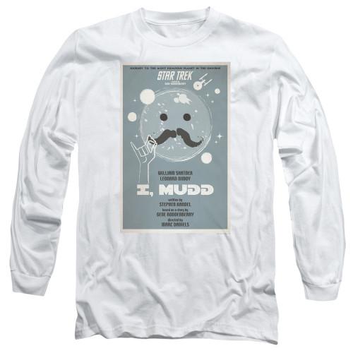 Image for Star Trek Juan Ortiz Episode Poster Long Sleeve Shirt - Ep. 37 I, Mudd