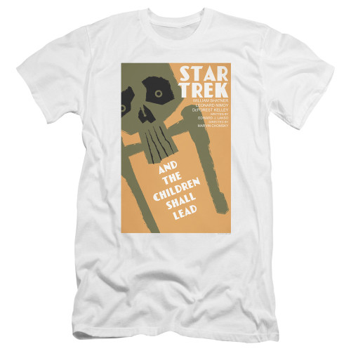 Image for Star Trek Juan Ortiz Episode Poster Premium Canvas Premium Shirt - Ep. 59 And the Children Shall Lead