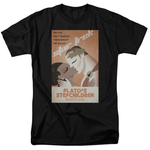 Image for Star Trek Juan Ortiz Episode Poster T-Shirt - Plato's Stepchildren on Black