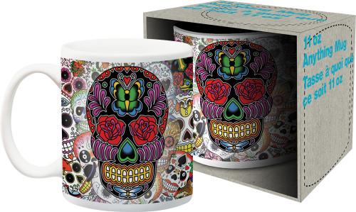 Image for Dia de los Muertos Sugar Skull Coffee Mug