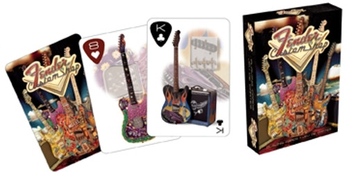 Image for Fender Playing Cards