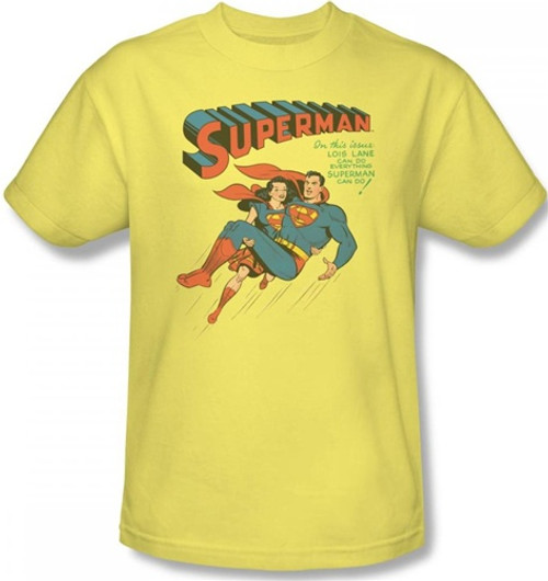 Image for Superman T-Shirt - Superman #57 Cover
