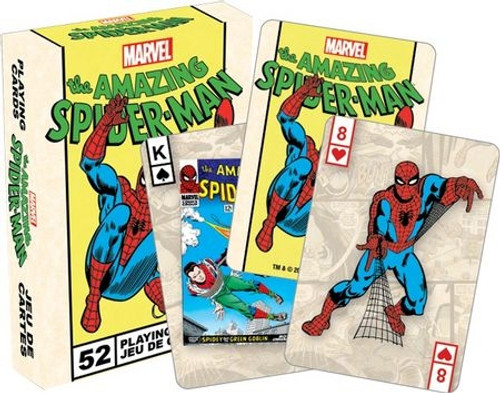 The Amazing Spider-Man Playing Cards