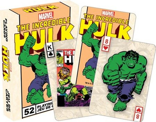 Image for The Incredible Hulk Playing Cards
