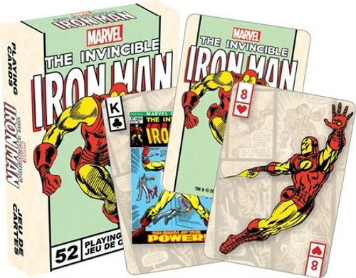 Image for Iron Man Playing Cards