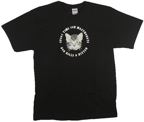 image for God Kills a Kitten T-Shirt