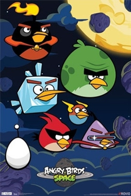 Image for Angry Birds Poster - Spaced