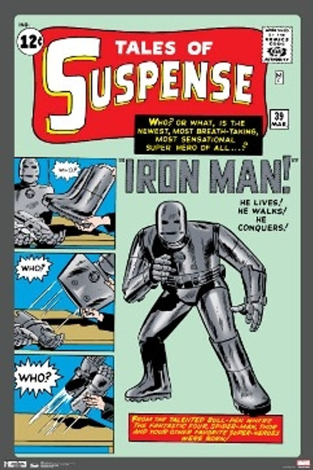 Image for Iron Man Poster - Tales of Suspense Cover