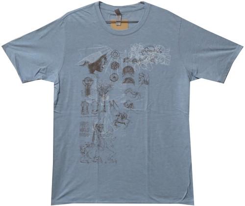 Image Closeup for Leonardo Da Vinci Sketch T-Shirt