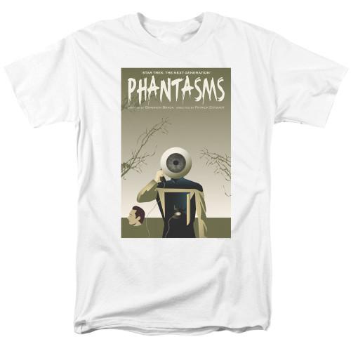 Image for Star Trek the Next Generation Juan Ortiz Episode Poster T-Shirt - Season 7 Ep. 6 Phantasms