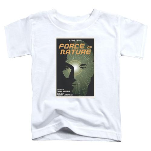 Image for Star Trek the Next Generation Juan Ortiz Episode Poster Toddler T-Shirt - Season 7 Ep. 9 Force of Nature