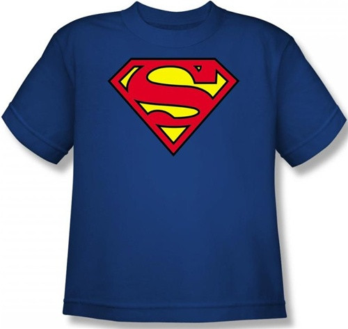 Image for Superman Youth T-Shirt - Classic Logo