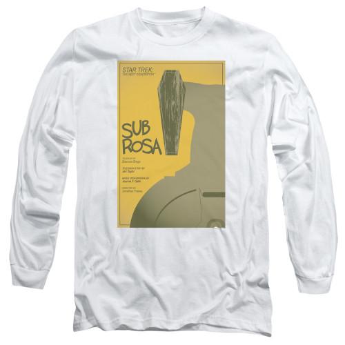 Image for Star Trek the Next Generation Juan Ortiz Episode Poster Long Sleeve Shirt - Season 7 Ep. 14 Homeward