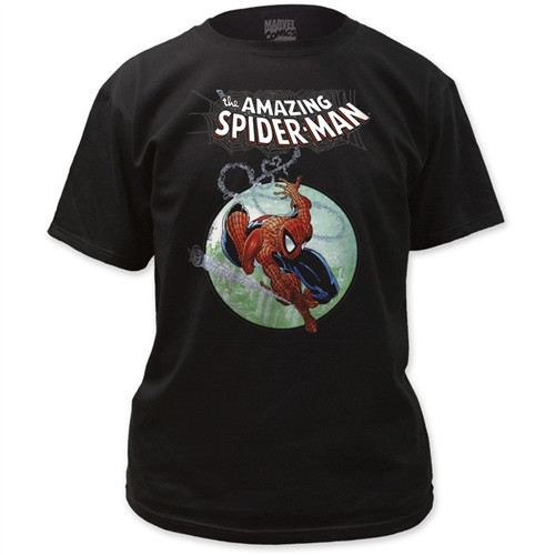 Image Closeup for Spider-Man T-Shirt - Omnibus Cover