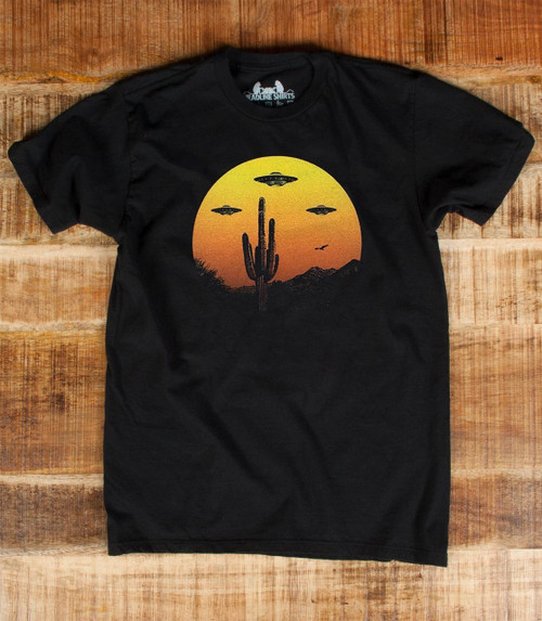 Flat image for UFO Country T-Shirt