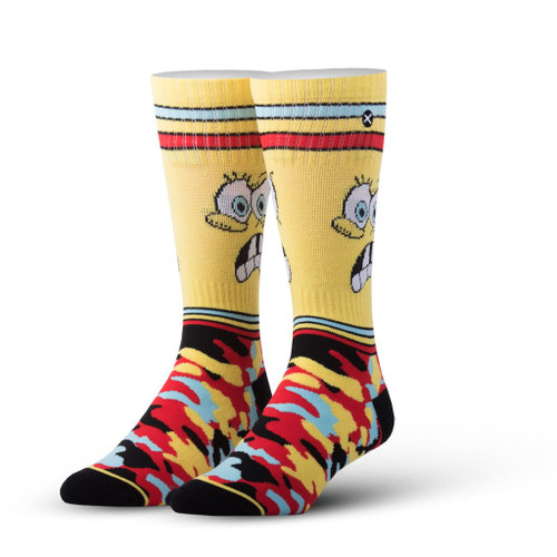Side image for Spongebob Camo Socks