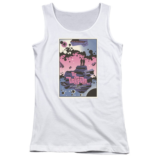 Image for Star Trek the Next Generation Juan Ortiz Episode Poster Juniors Tank Top - Season 2 Ep. 10 Dauphin