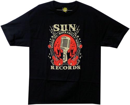 Image Closeup for Sun Records Rockabilly T-Shirt