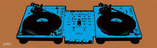 Image for Steez Poster - Turntables