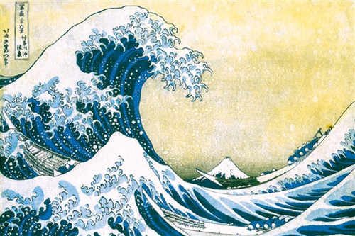 Image for Hokusai Poster - Great Wave