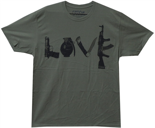 Image Closeup for Steez Love T-Shirt
