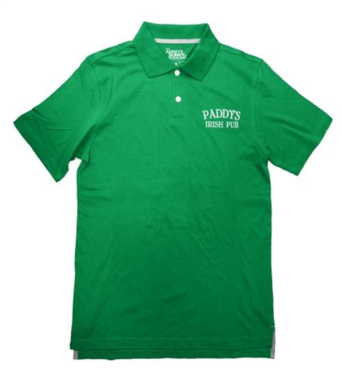 Image for It's Always Sunny Paddy's Irish Pub Logo Polo Shirt