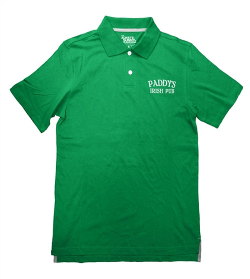 It's Always Sunny Paddy's Irish Pub Logo Polo Shirt