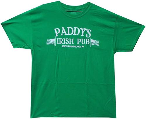 Image Closeup for It's Always Sunny in Philadelphia Paddy's Irish Pub T-Shirt