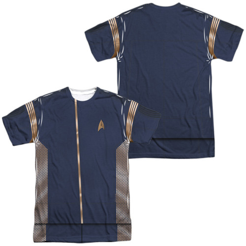 Image for Star Trek Discovery Sublimated T-Shirt - Command Uniform
