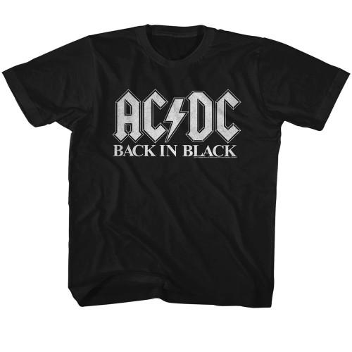 Image for AC/DC Back in Black 2 Toddler T-Shirt
