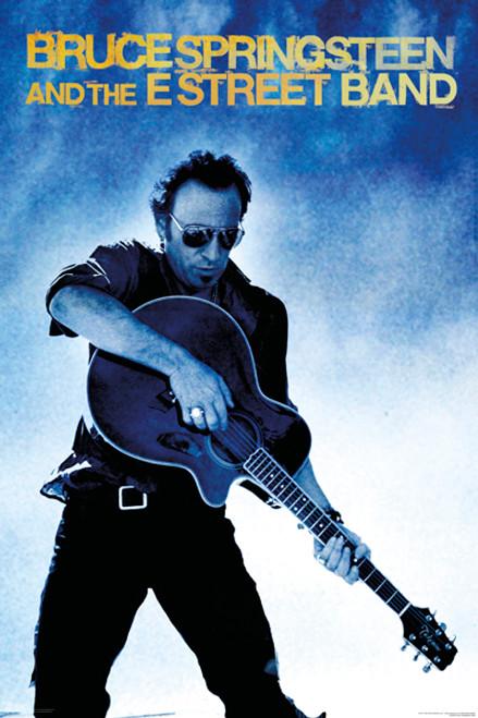 Image for Bruce Springsteen Poster - Guitar